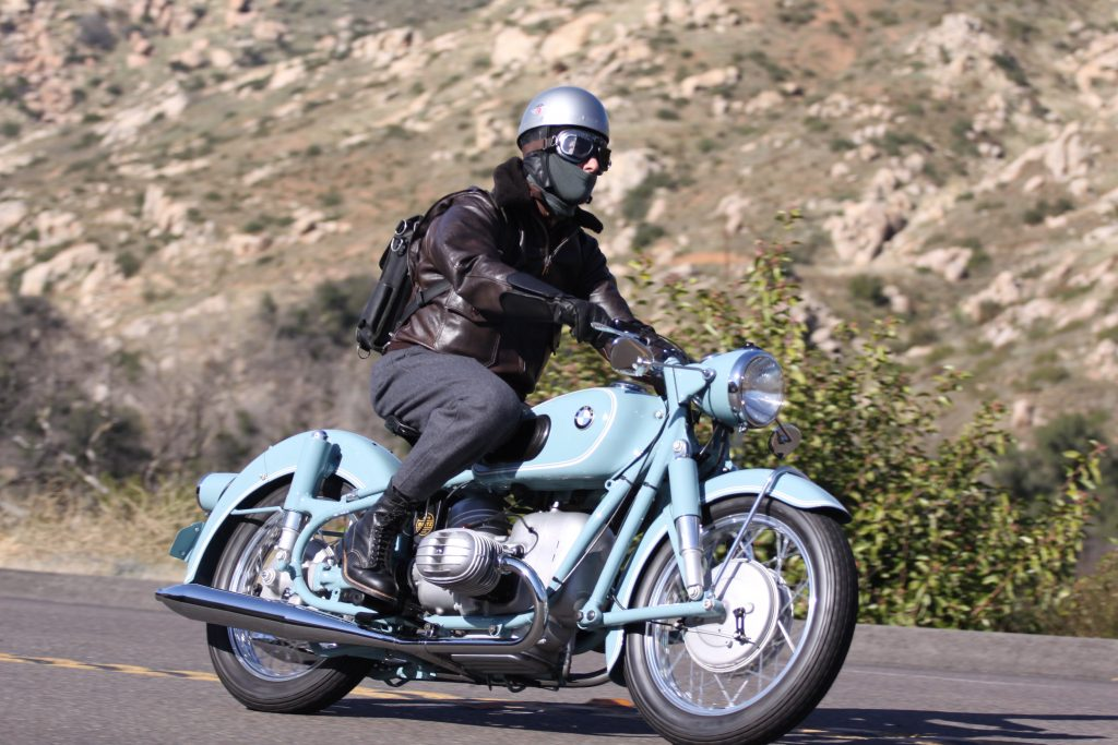 Tim Stafford Riding First China Blue Stafford Restoration BMW