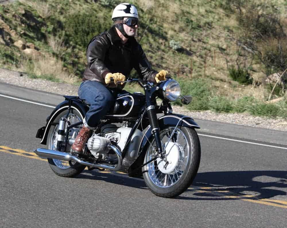 Tim Stafford Riding His Restored R51/3